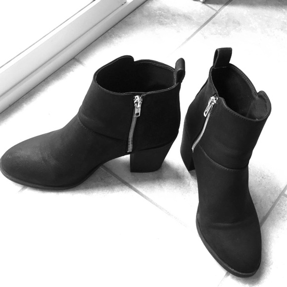 Divided Shoes - Women s Black Booties 0134fc28ed